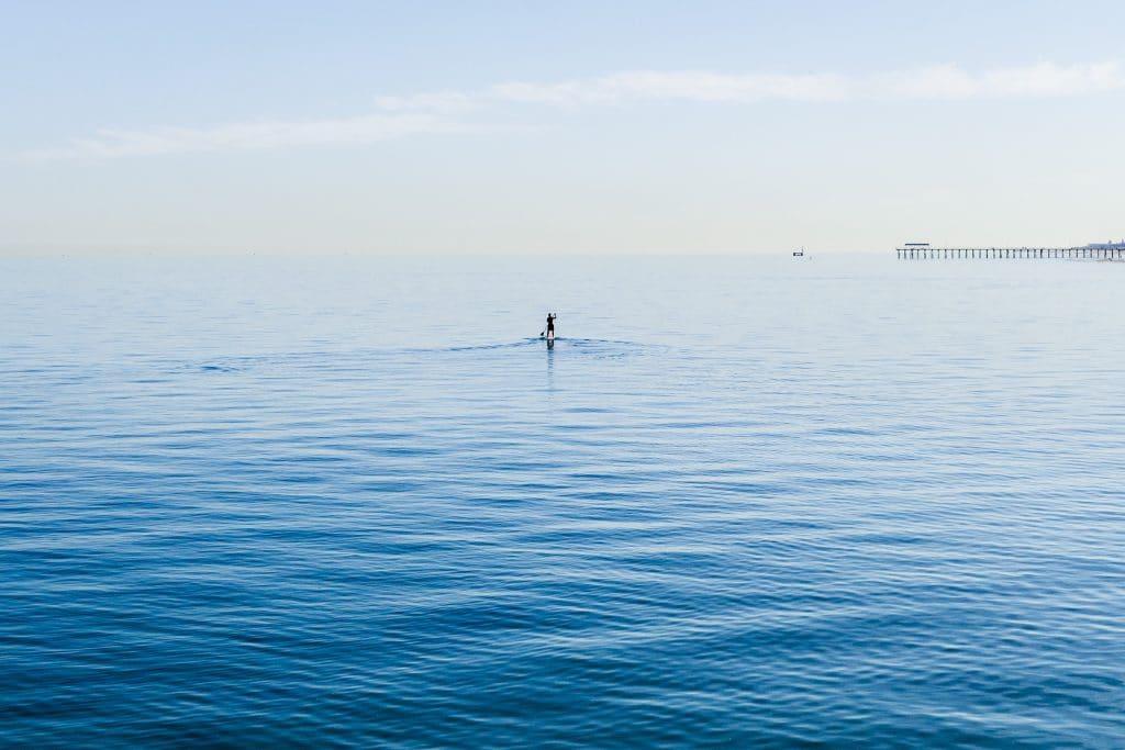 blue colour, sea example