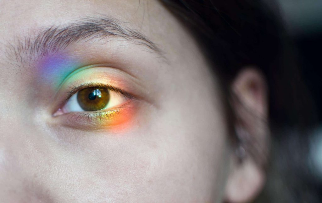 coloraturas blindness, eye example