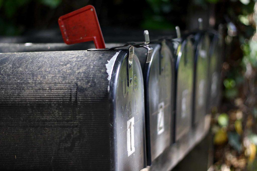 Newsletters - mailboxes
