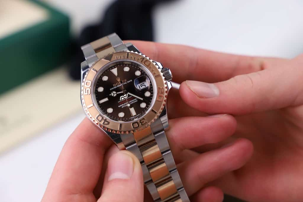 watches and hands