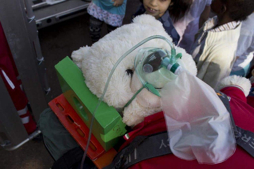 teddy bear resuscitation