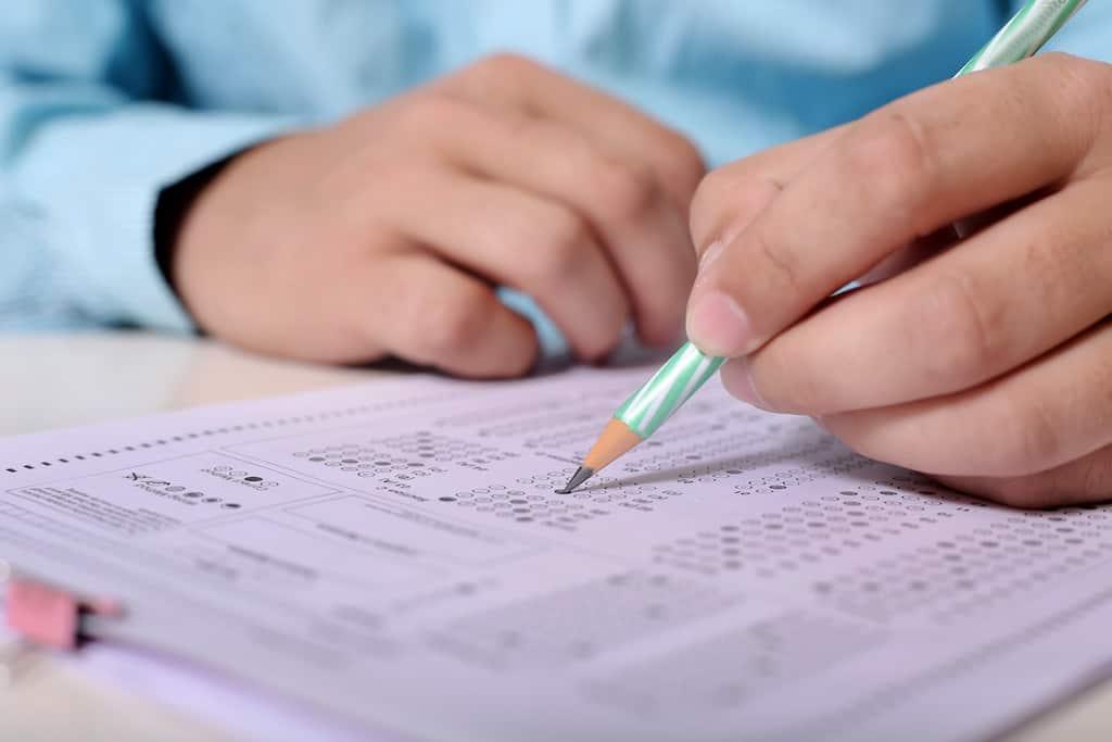 pupil, test, pencil