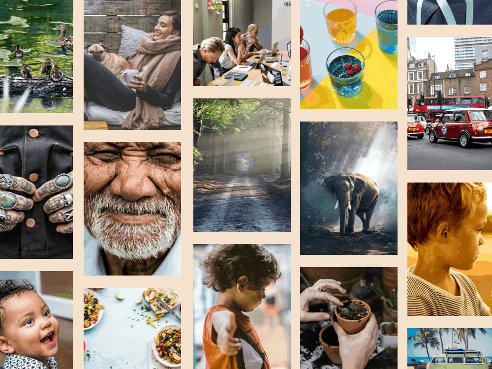 JumpStory photo collage
