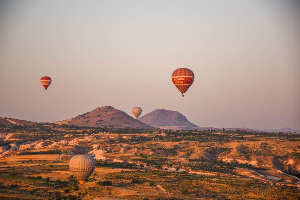 rising Ballons